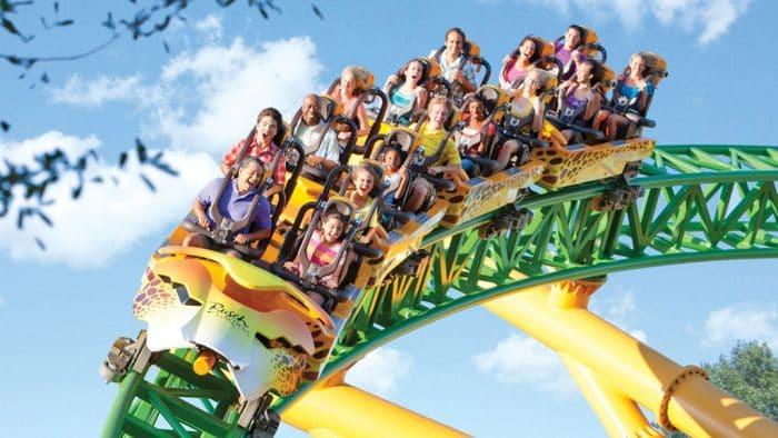 Ingressos e combos do SeaWorld Orlando: Parque Busch Gardens