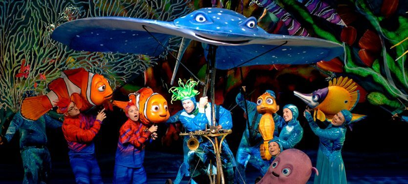 Parque Animal Kingdom da Disney Orlando: Musical Finding Nemo