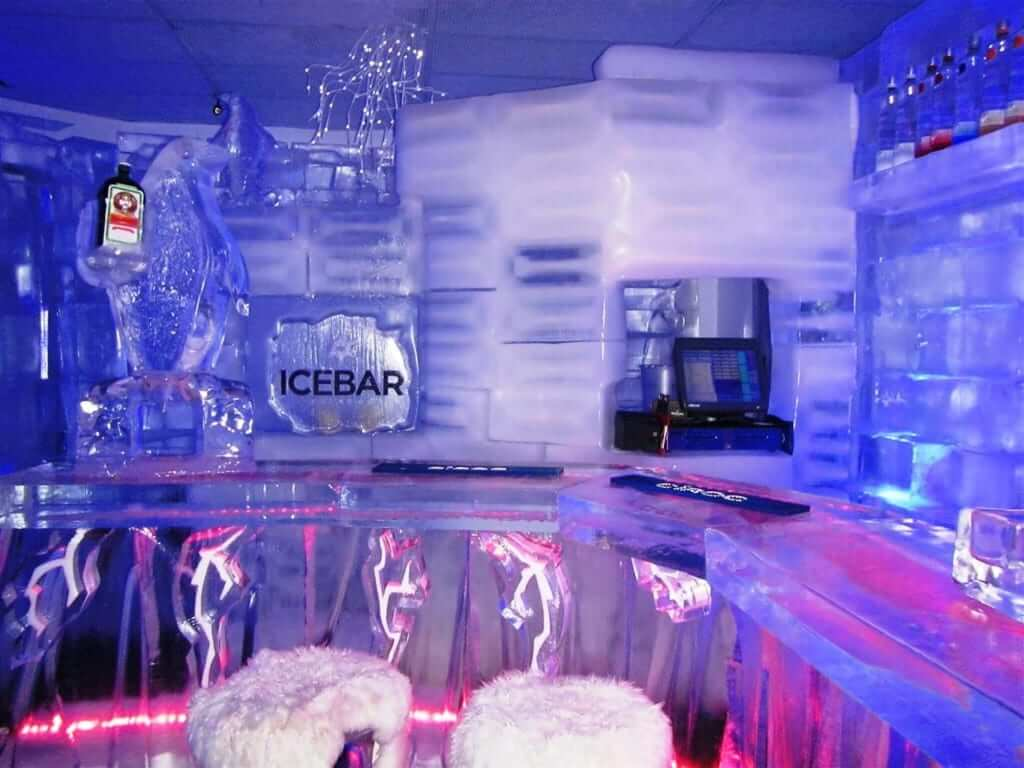 Bares e baladas em Orlando: Icebar