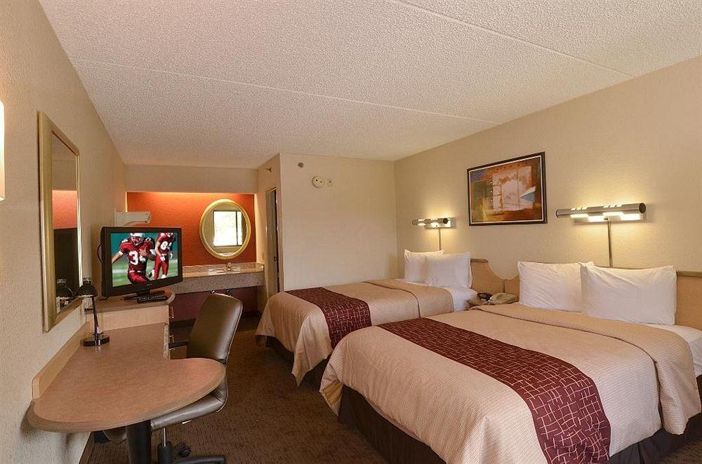 Hotéis bons e baratos em Orlando: Red Roof Inn - quarto