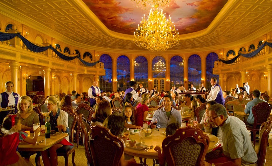 Parque Magic Kingdom da Disney Orlando: restaurante