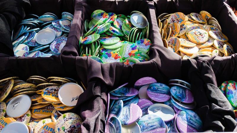 Buttons da Disney em Orlando: onde adquirir