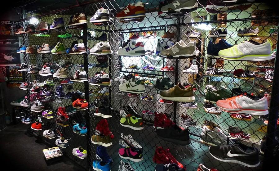 Medidas de calçados em Orlando: tênis
