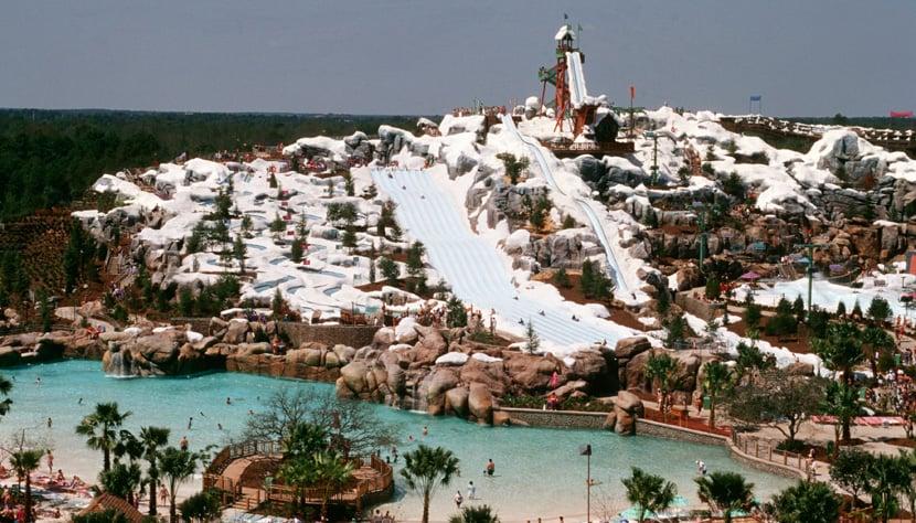Parque Blizzard Beach da Disney Orlando