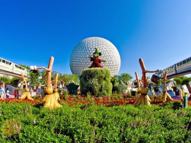 Feriados em Orlando em 2015: Parque Epcot Halloween