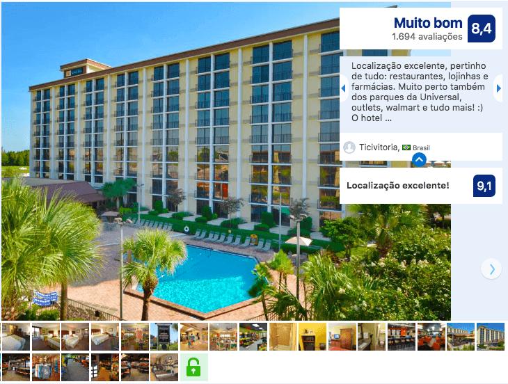 Hotéis bons e baratos em Orlando: Rosen Inn