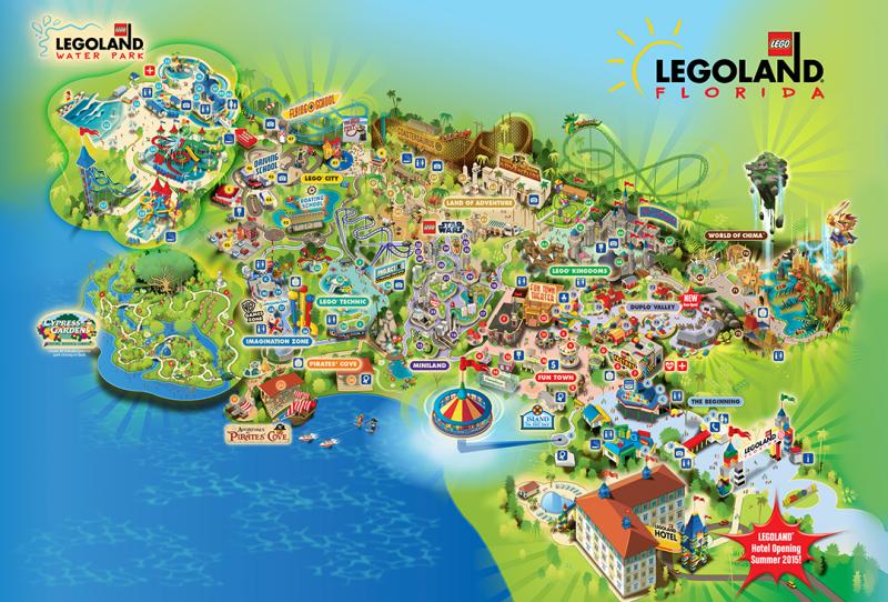 Parque Legoland Water Park em Orlando