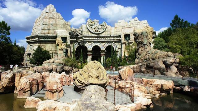 Parque Islands of Adventure Orlando: Área Lost Continent