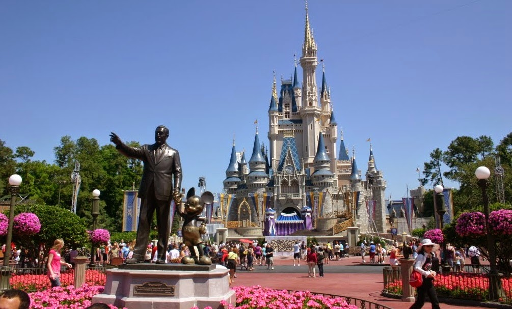 Parque Magic Kingdom da Disney Orlando: Castelo da Cinderela