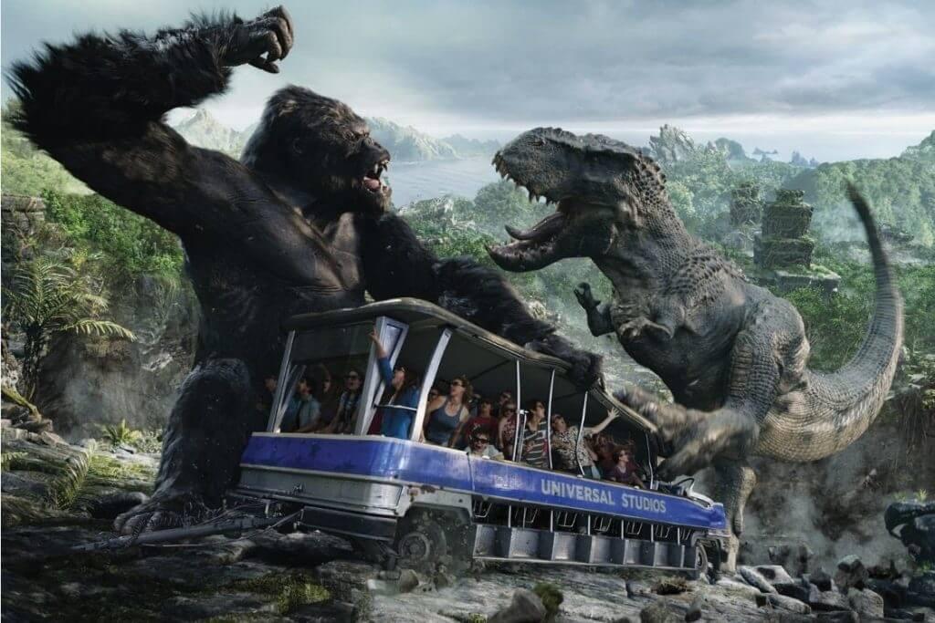 Parque Islands of Adventure Orlando: King Kong