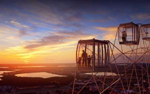 Passeios em Orlando: Complexo I-Drive 360 - Roda Gigante Orlando Eye