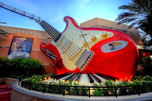 Parque Hollywood Studios da Disney Orlando: montanha-russa do Aerosmith