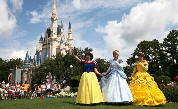 Os principais parques de Orlando: parque Magic Kingdom da Disney Orlando
