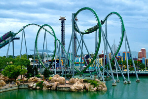 Os principais parques de Orlando: parque Islands of Adventure em Orlando