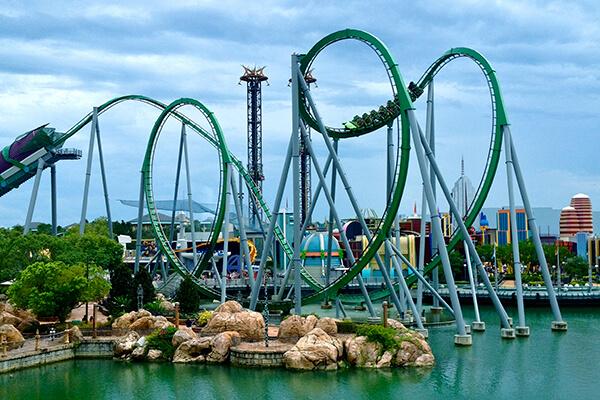7 melhores parques temáticos de Orlando: Parque Islands of Adventure