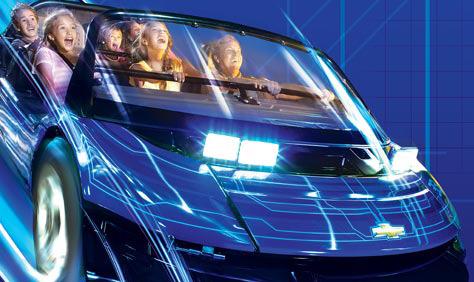 Parque Epcot da Disney Orlando: Test Track