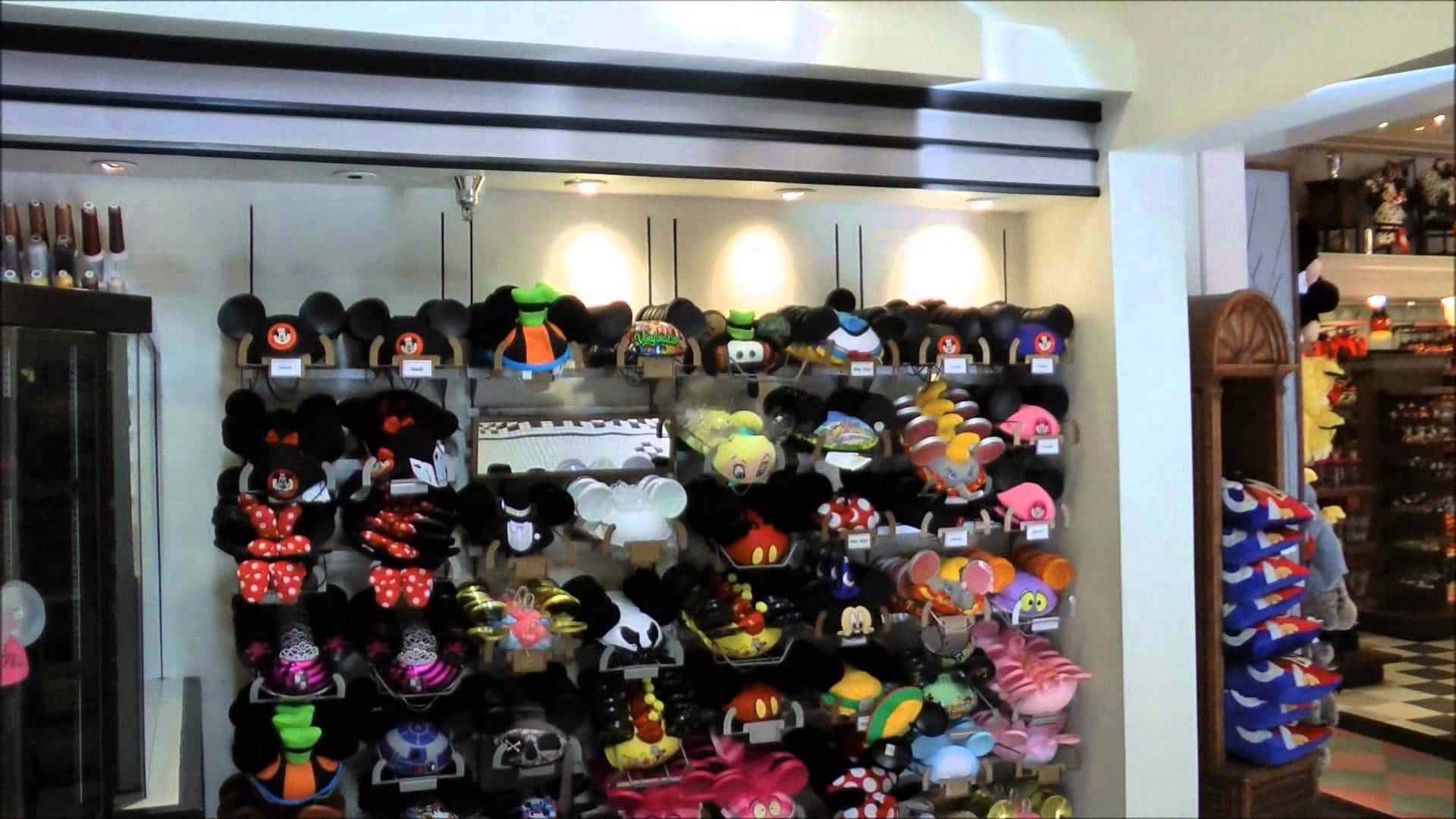 Lojas no parque Disney Hollywood Studios Orlando: loja Adrian & Edith's Head to Toe