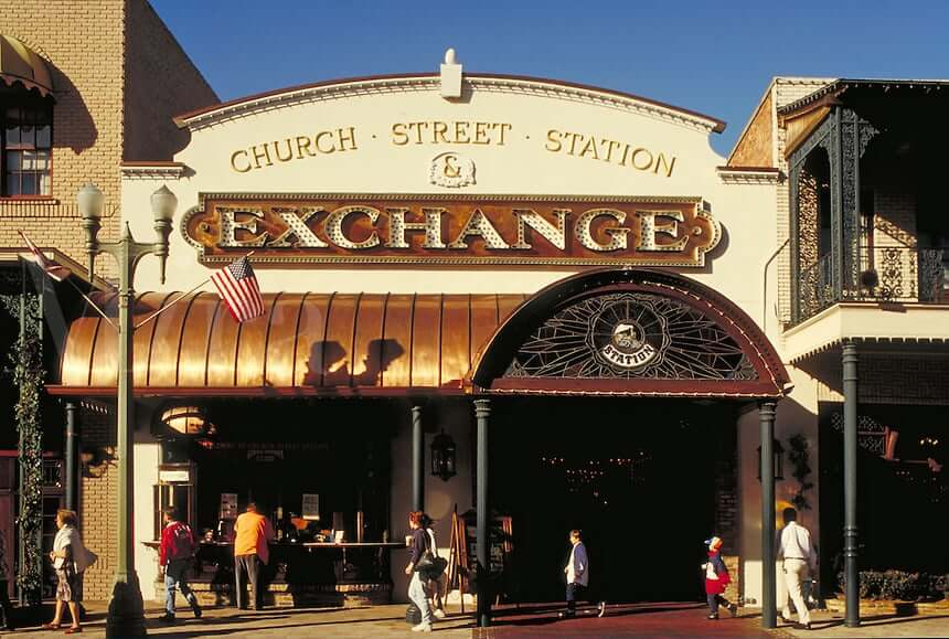 Church Street Station em Orlando: shopping Exchange