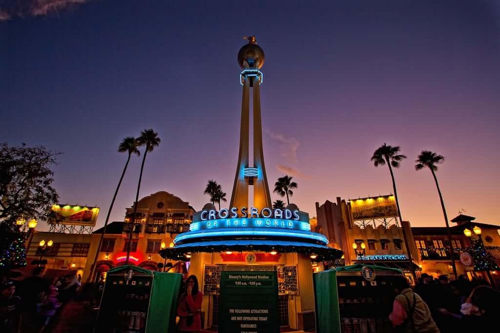 Lojas no parque Disney Hollywood Studios Orlando: Crossroads of the World