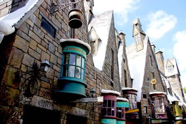 Parque Mundo do Harry Potter em Orlando: Hogsmead Village