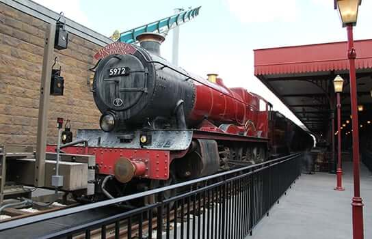 Parque Islands of Adventure Orlando: Trem Hogwarts Express
