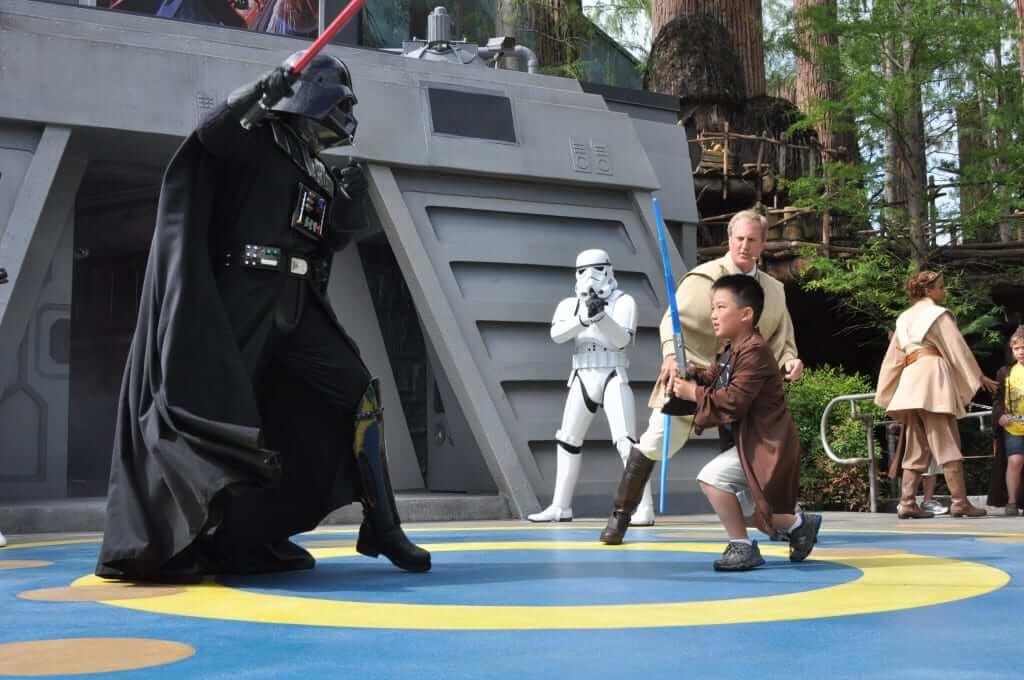 Jedi Training Academy no Disney Hollywood Studios Orlando