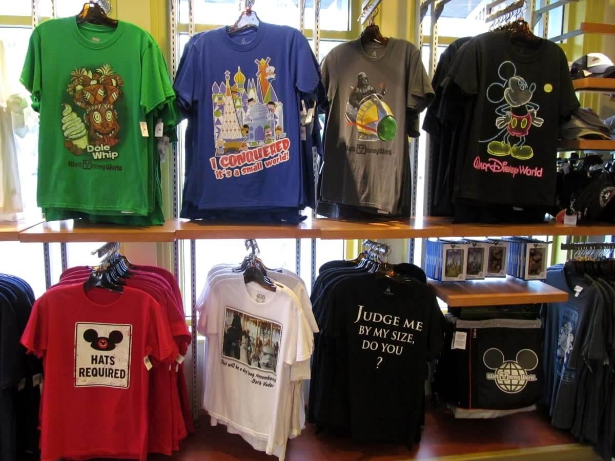 Lojas no parque Disney Hollywood Studios Orlando