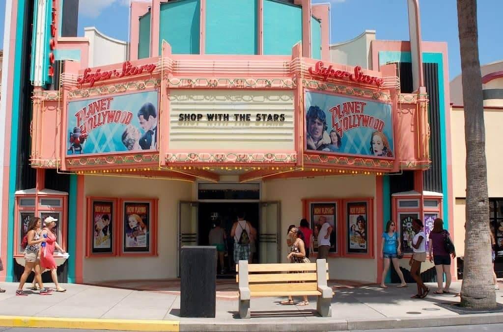 Lojas no parque Disney Hollywood Studios Orlando: Planet Hollywood Superstore