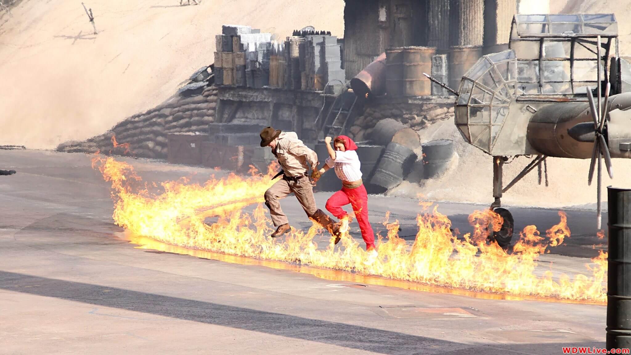 Show do Indiana Jones na Disney Orlando 2