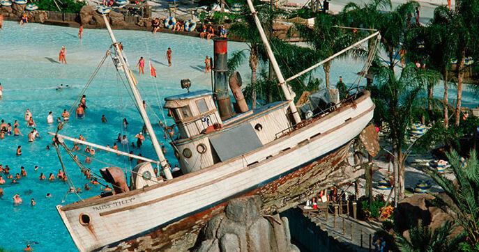 Parque Typhoon Lagoon da Disney Orlando: piscina