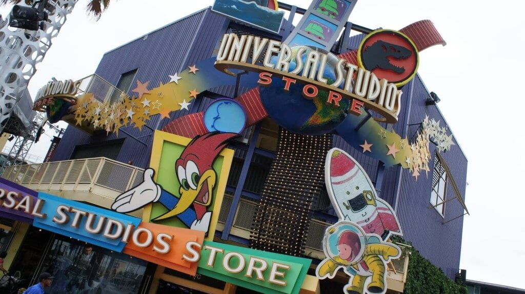 CityWalk Universal em Orlando: Universal Studios Store