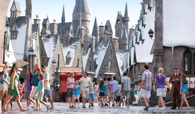 Parque Mundo do Harry Potter em Orlando