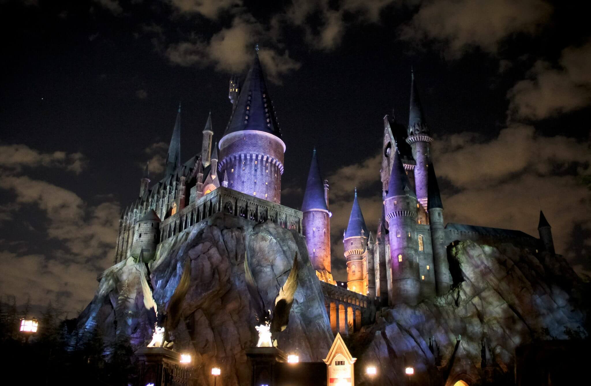 Parque Mundo do Harry Potter em Orlando: Castelo de Hogwarts