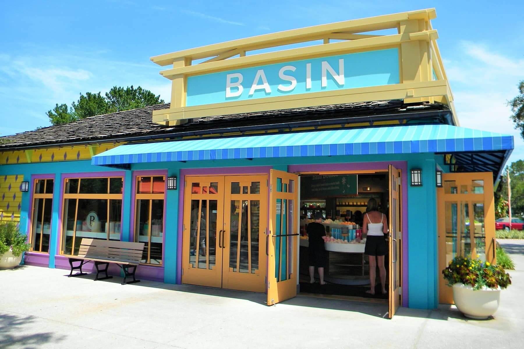 Lojas Basin na Disney Orlando