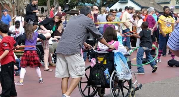 Deficientes físicos na Disney e Orlando: PNE no Complexo Walt Disney World Resort