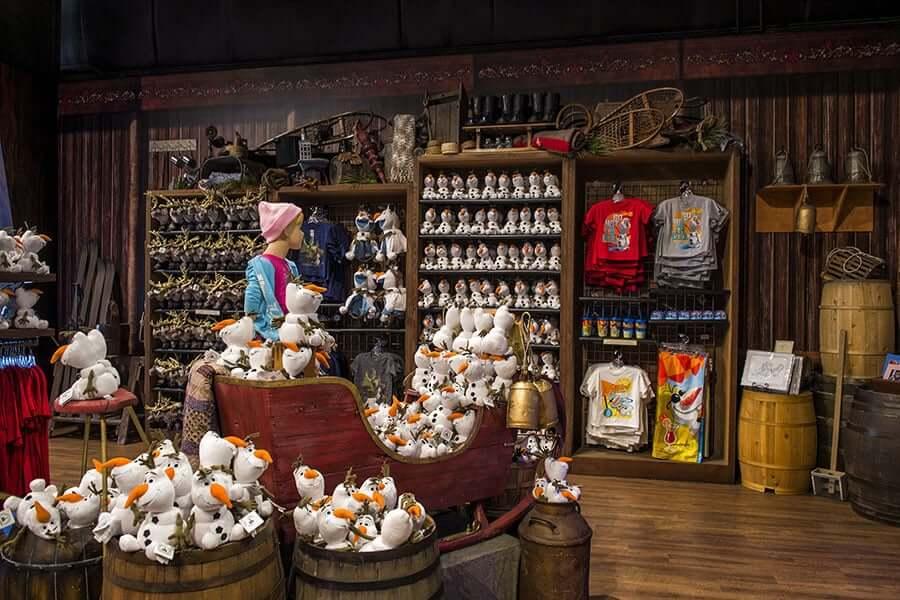 Lojas no parque Disney Hollywood Studios Orlando: Frozen Fractal Gifts