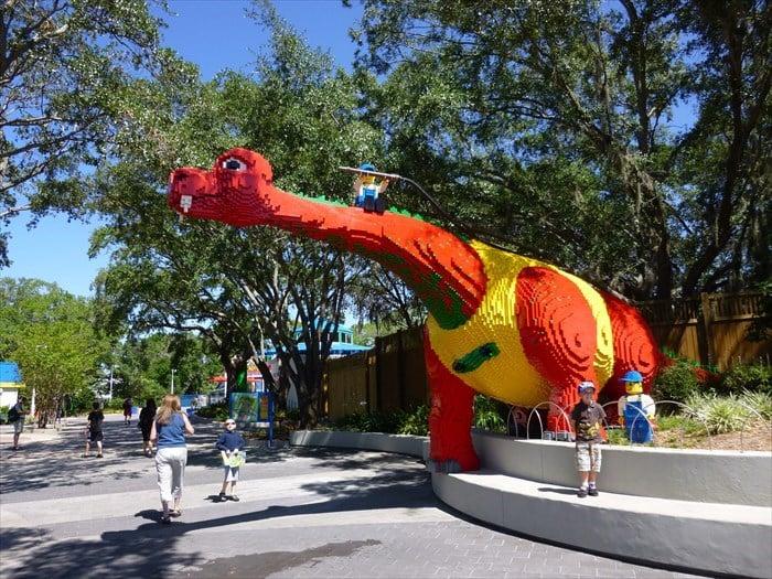 Parque Legoland da Lego Orlando: área The Beginning