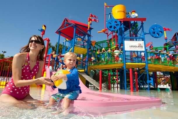 Parques para crianças em Orlando: Legoland WaterPark da LEGO