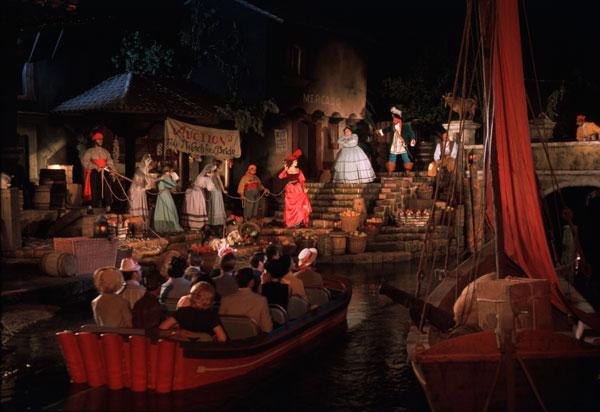 Melhores brinquedos do parque Disney Magic Kingdom: Pirates of the Caribbean