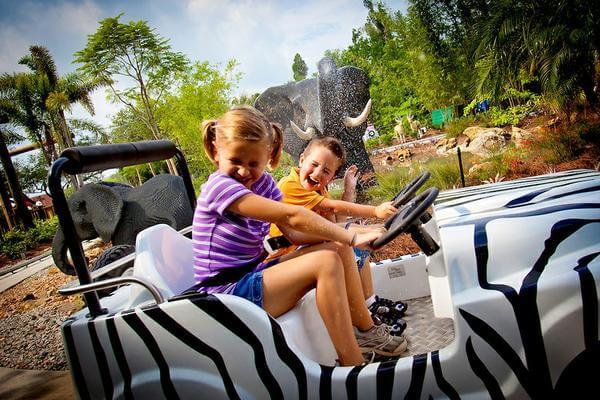 Parques para crianças em Orlando: Legoland da LEGO