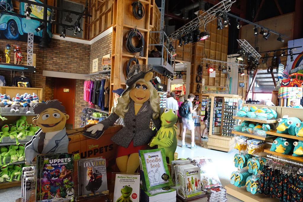 Lojas no parque Disney Hollywood Studios Orlando: Stage Company Store