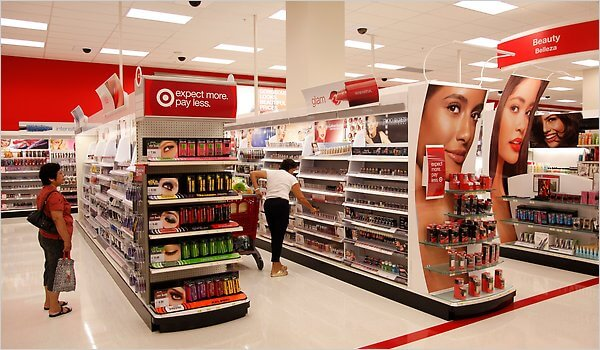 Lojas de departamento em Orlando: Target