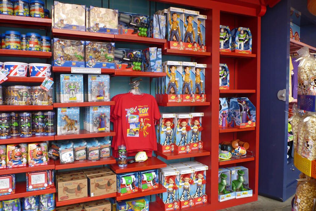 Lojas no parque Disney Hollywood Studios Orlando: Toy Story Dept
