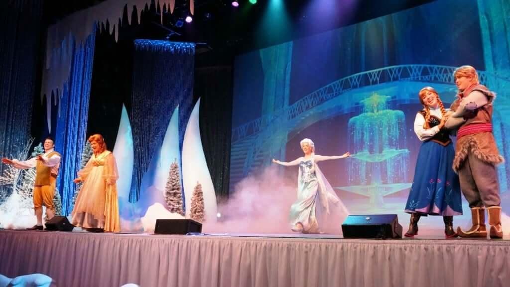 Musical do Frozen Sing-Along Celebration na Disney Orlando