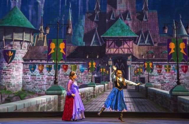 Musical do Frozen Sing-Along Celebration na Disney Orlando: Anna
