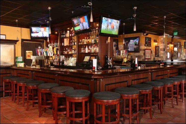 Pub Irlandês Frankie Farrell's em Orlando: interior do pub
