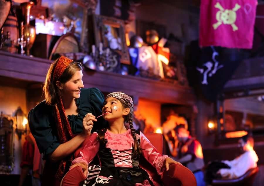 The Pirates League no Disney Magic Kingdom Orlando: pacotes para meninas
