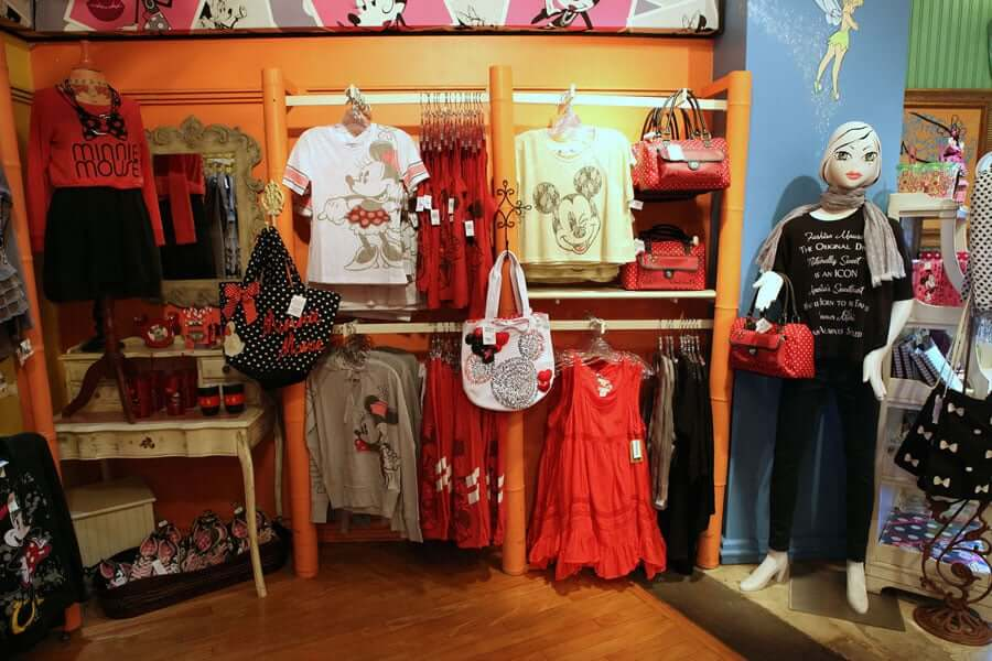 Loja Tren-D Store na Disney Orlando: produtos
