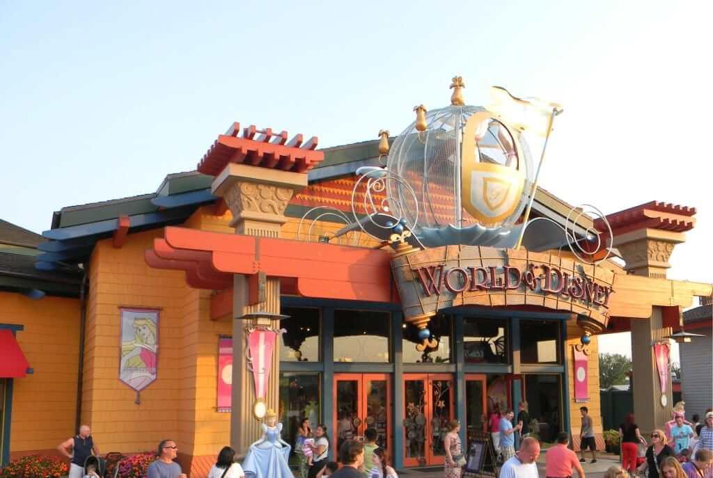Lojas de souvenirs e presentes em Orlando: loja World of Disney