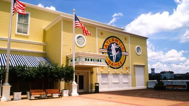 Discoteca Atlantic Dance Hall na Disney Orlando